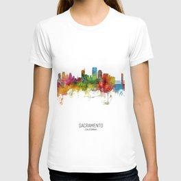Sacramento California Skyline T-shirt
