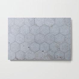 NYC Asphalt Beehive Metal Print