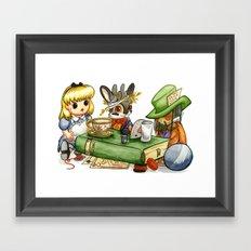 March Jackalope Framed Art Print