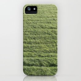 The greenest Grass iPhone Case