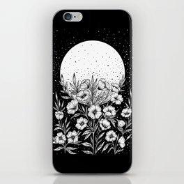 Moon Greeting iPhone Skin