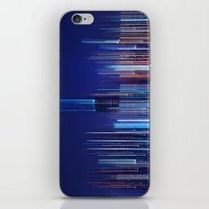 Miami Skyline Abstract iPhone & iPod Skin