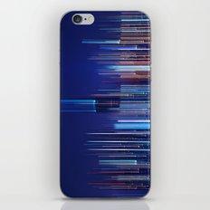 Miami Skyline Abstract iPhone Skin