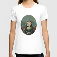 mona lisa T-shirts featuring Mona Lisa by Chris Talbot-Heindl