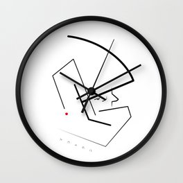 Makoto-kun Wall Clock