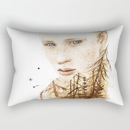 Summer spots Rectangular Pillow