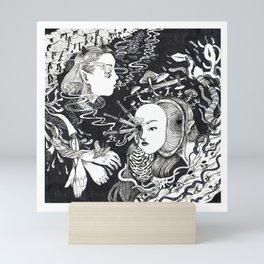 equivocal Mini Art Print