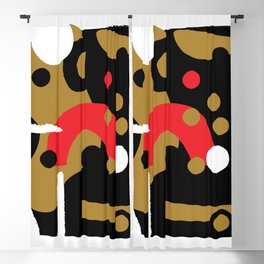 Abstraction level Blackout Curtain