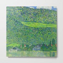 Klimt - Litzlberg on the Attersee (new editing) Metal Print