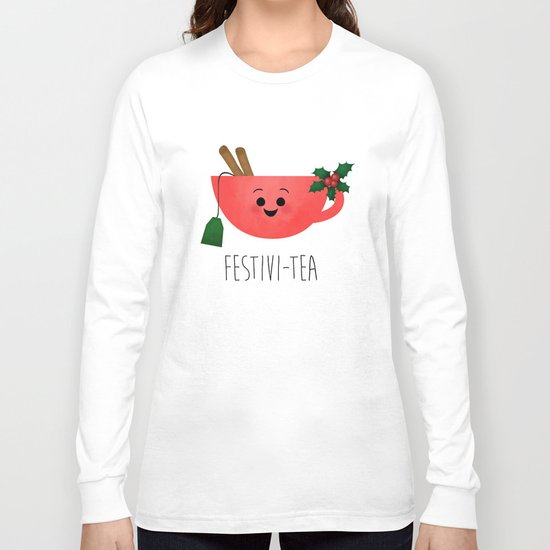 Festivi-tea Long Sleeve T-shirt