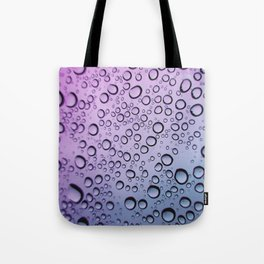 drops of blurple Tote Bag