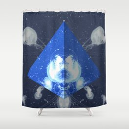 Jelly Triangle Shower Curtain