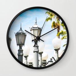 Urban City Lights - LA Wall Clock