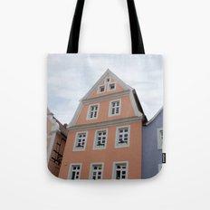 Pastel Houses - JUSTART © Tote Bag
