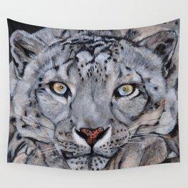 Snowleopard Wall Tapestry