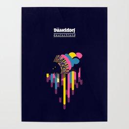 Dusseldorf - Germany Poster