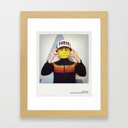 Minifig me ! – Everyone has a LEGO piece inside - 14 Framed Art Print