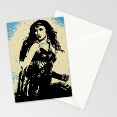 WonderWoman (Poster Edition) Stationery Cards