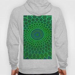 Green Arabic Mosaic Hoody