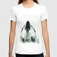howl T-shirts featuring HOWL by Joelle Poulos