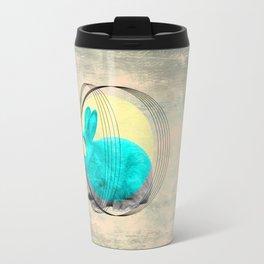 hypnotic rabbit Travel Mug