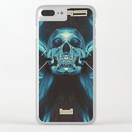 SKULL DX Clear iPhone Case