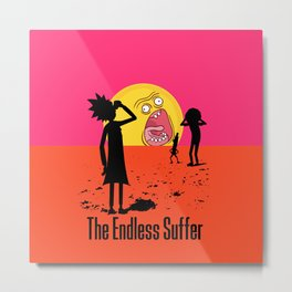 The Endless Suffer Metal Print