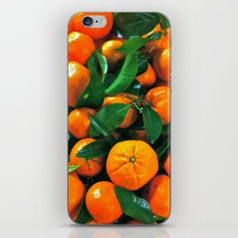 oranges from the grocery store iPhone Skin