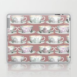 Florence coffee cup print Laptop & iPad Skin