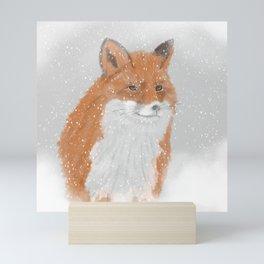 Winterfox Mini Art Print