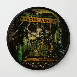 Official Invisible Man 2 Print Wall Clock