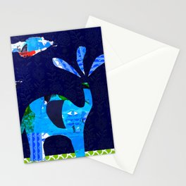 'lucky sun shower ...' Stationery Cards