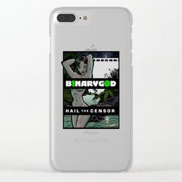 David & Bath-Sheba Clear iPhone Case