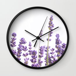 Purple Lavender #4 #decor #art #society6 Wall Clock