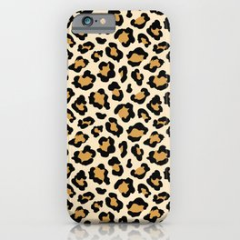 Cheetah Animal Print iPhone Case