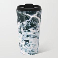 Choppy Water Metal Travel Mug