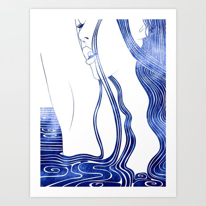 Limnoreia Art Print