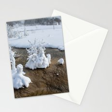 Winter in Yellowstone Stationery Cards