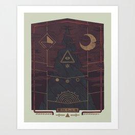 Mount Death Art Print