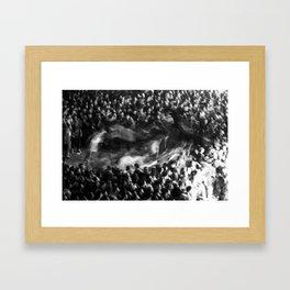 Pogo - Circle Pit Framed Art Print