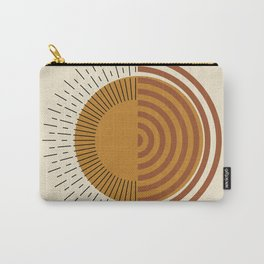 Geometric Sun Carry-All Pouch