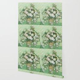 Vincent van Gogh - Roses Wallpaper