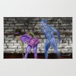 The Ballerina and the Satyr Rug