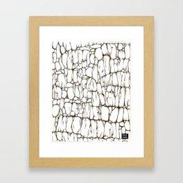 Fondo de Piedra Framed Art Print
