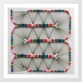 Pin-wheeling Art Print