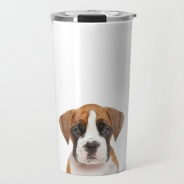 German Boxer Puppy Travel Mug