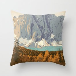 Kootenay National Park Throw Pillow