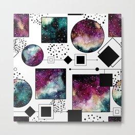 Galaxy Geometric Pattern 25 Metal Print