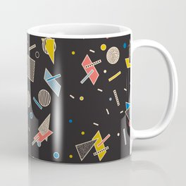 Memphis Inspired Pattern 10 Coffee Mug