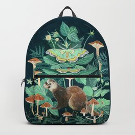 Ferret and Moth Backpack